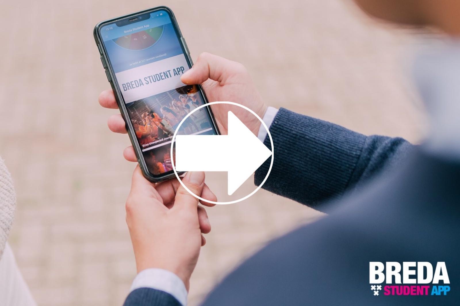 Breda Student App video