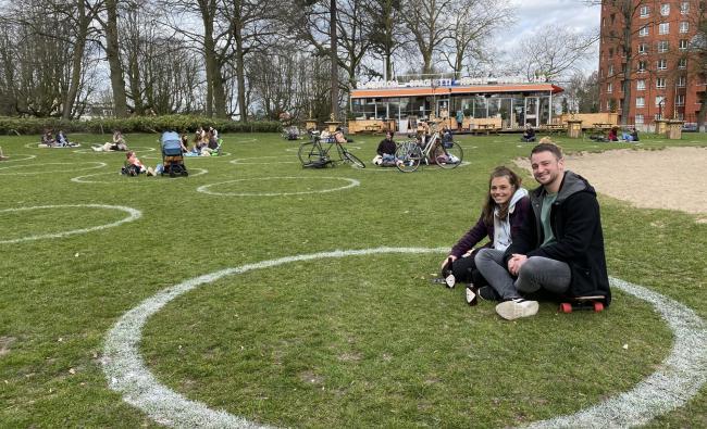 Cirkels in het Valkenberg