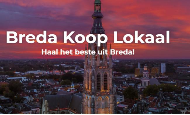 Koop Lokaal Breda met tekst